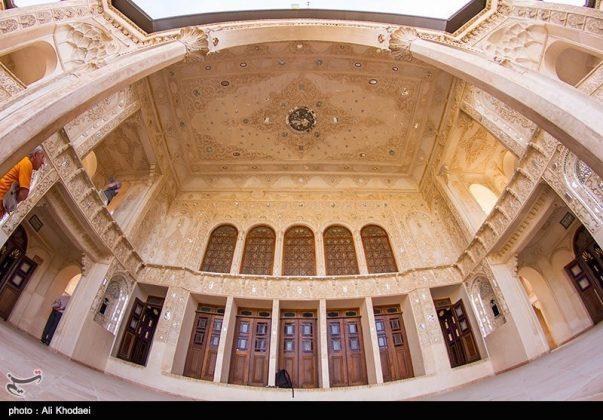 كاشان .. دار الطباطبائيين تحفة معمارية من العهد القاجاري (5)