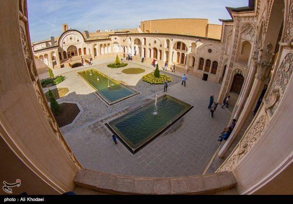 كاشان .. دار الطباطبائيين تحفة معمارية من العهد القاجاري (9)