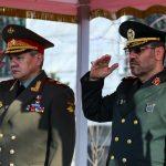 وزير الدفاع الايراني يلتقي نظيره الروسي