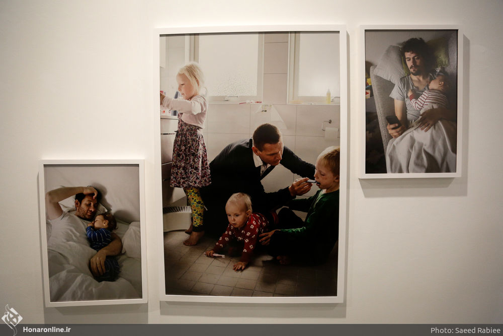 'Swedish Dads' Put on Display in Iranian Artists Forum (7)