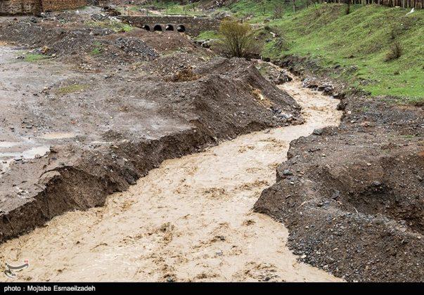 السيول تضرب اربع محافظات شمال غرب ايران010526764