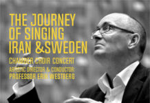 Tehran Hosts 'Iran-Sweden Journey of Singing'