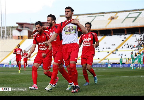 برسبوليس .. بطل الدوري الايراني الممتاز 19