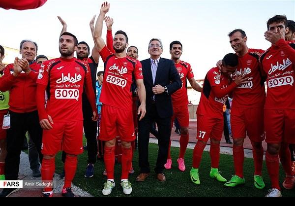 برسبوليس .. بطل الدوري الايراني الممتاز 27