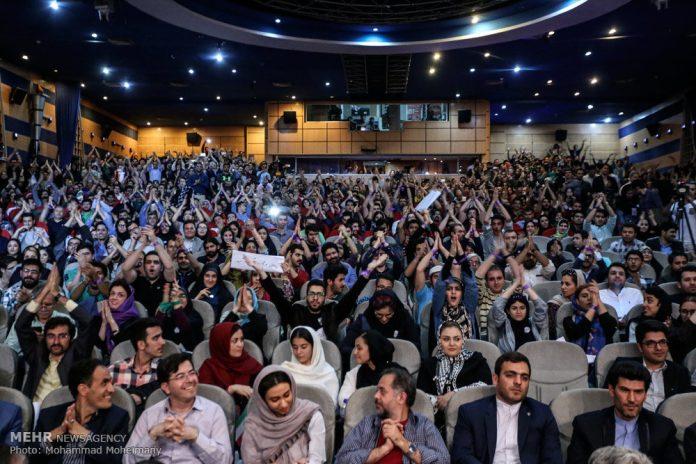 تجمع لأنصار الرئيس روحاني في العاصمة طهران