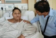 500kg Egyptian Loses Half Her Weight after Surgery in India