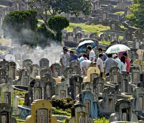 زیارت قبرهای چین