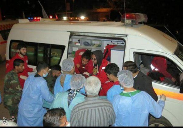 مشاهدات صحفي ايراني عن فاجعة الفوعة وكفريا السوريتين6