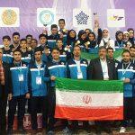 تکواندوی ایرای بر سکوی قهرمانی آسیا