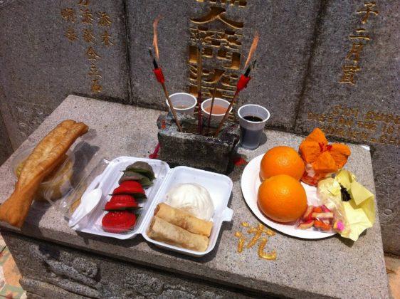 آداب قبر در چین