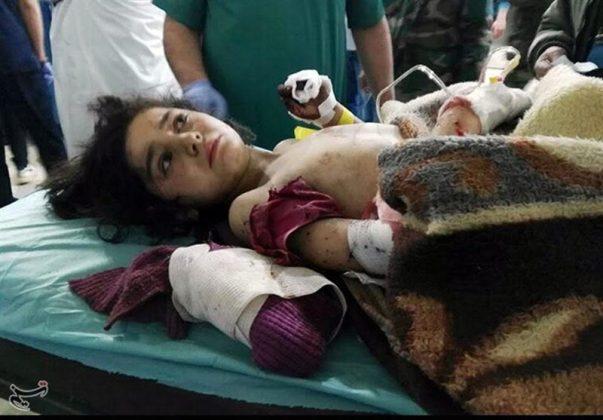 مشاهدات صحفي ايراني عن فاجعة الفوعة وكفريا السوريتين8