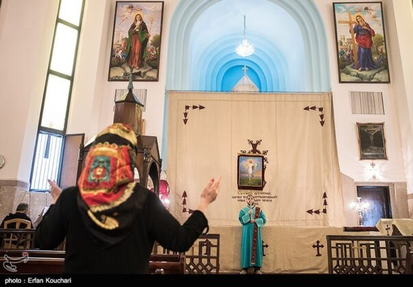 Christians in Tehran Celebrate Easter (10)