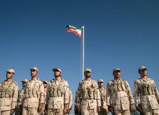 Iranian border guards