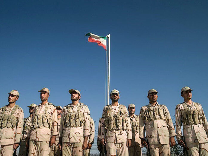 Iranian border guards