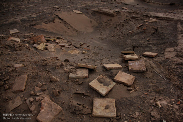 Sand Storm in Southern Iran Unearths Ancient City (12)