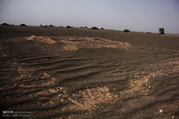 Sand Storm in Southern Iran Unearths Ancient City (21)
