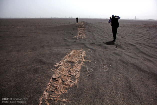 Sand Storm in Southern Iran Unearths Ancient City (22)