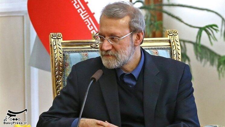 Top IRGC Commanders Meet Iran's Parliament Speaker (1)