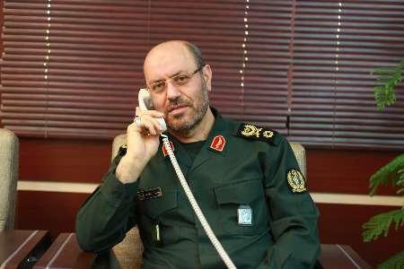 وزير الدفاع الايراني يحذر امريكا من تكرارهجومها على سوريا