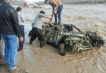 السيول تضرب اربع محافظات شمال غرب ايران