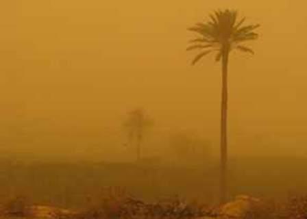 تعاون ايراني عراقي لمكافحة ظاهرة الغباروالاتربة