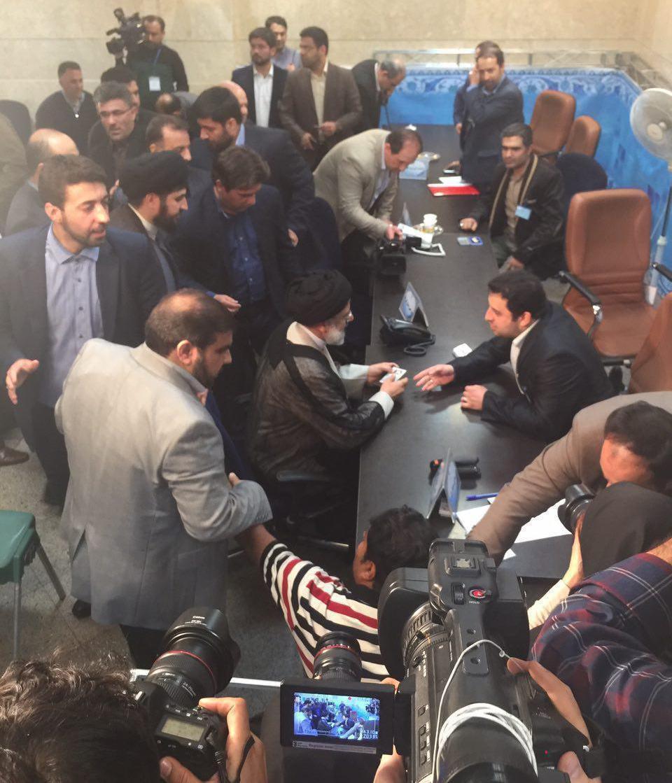 Rouhani, Raisi Register to Run for Iran's Presidency-7654