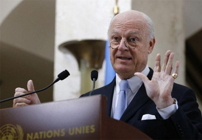 مكتب دي ميستورا.. نتابع بانتباه الوضع في سوريا