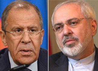 اتصال هاتفی بین وزیری الخارجیة الایرانی والروسی