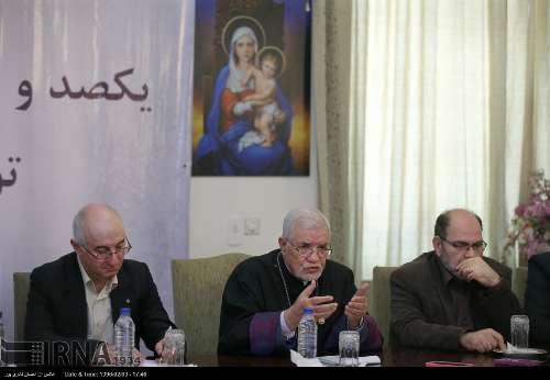 طهران .. خليفة الأرامن يدين الجرائم في سوريا والعراق