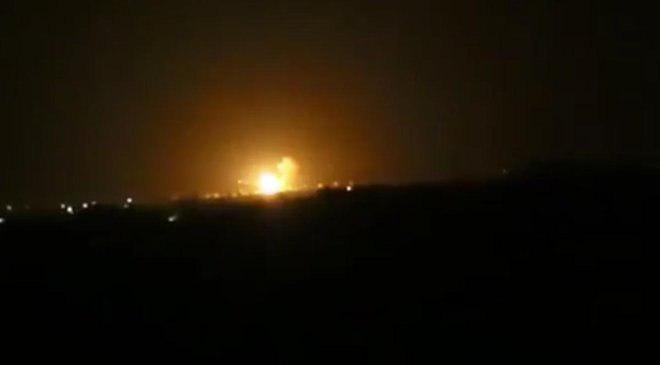 وقوع انفجار شدید در فرودگاه دمشق