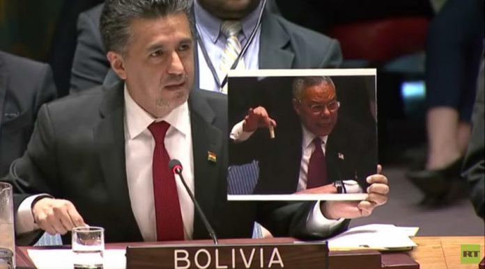 انتقاد شدید بولیوی از آمریکا در شورای امنیت