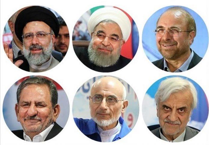 نبذة عن المرشحين الستة لانتخابات الرئاسة في إيران