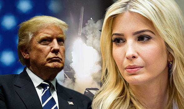 ترامپ به خاطر دخترش به سوریه حمله کرد!