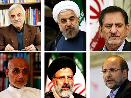 ايران .. تأييد اهلية 6 مرشحين لخوض الانتخابات الرئاسية ورفض احمدي نجاد