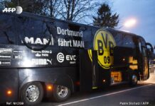 UCL Game Postponed after Explosions near Dortmund Bus
