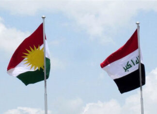 Kurdistan-Iraq-Hoisting Non-Iraqi Flags in Kirkuk Can Cause Tension: Iran