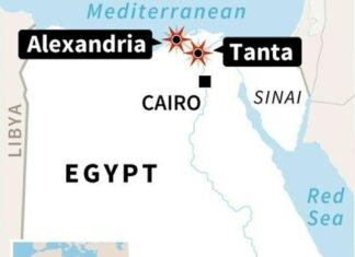 11 Killed in Second Egyptian Church Bombing