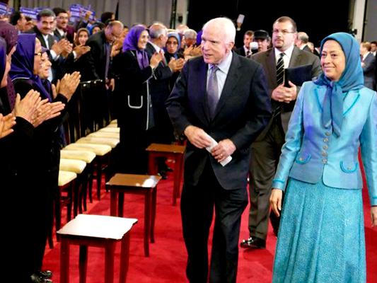 Iran Blasts US Senator's Meeting with MKO Terrorists