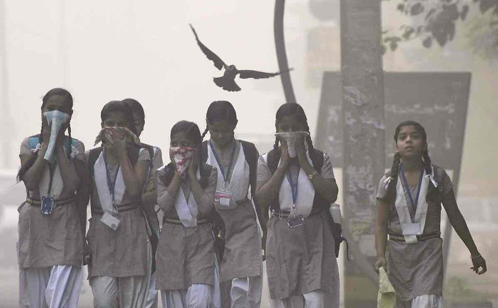 شکایت دختر 9 ساله هندی از عملکرد محیطزیستی دولت