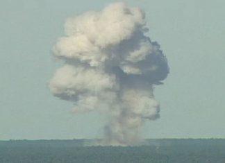 آمریکا بزرگترین بمب غیراتمی را در افغانستان انداخت