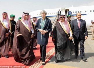 ترزا می -عربستان