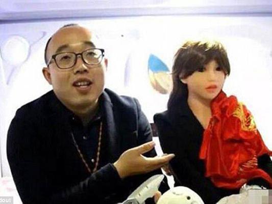 مهندس چینی با معشوقه رباتیکش ازدواج کرد