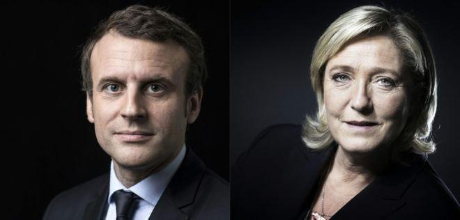 پیروزی «مکرون» و «لوپن» در دور اول انتخابات فرانسه