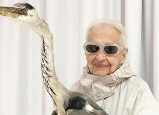 بروز احساس جوانی در مادربزرگ 95 ساله!