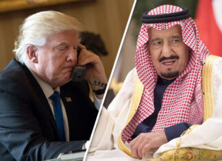 King salman and Trump