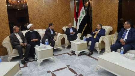 الخارجية العراقية تستقبل السفير الايراني الجديد بحفاوة
