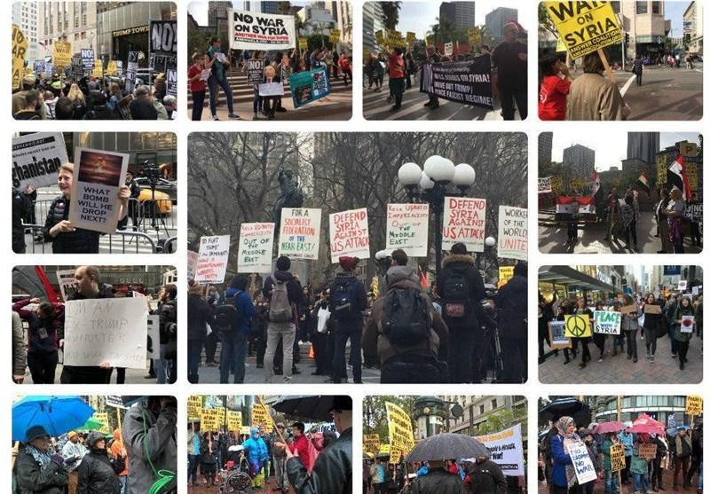 إحتجاجات في 35 مدينة أمريكية