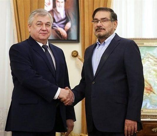 مبعوث الرئيس الروسي الخاص يلتقي شمخاني بطهران