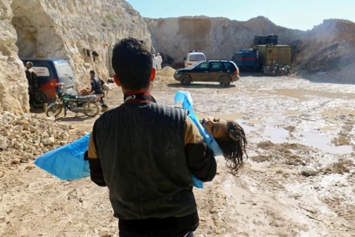 حمله شیمیایی شیخون