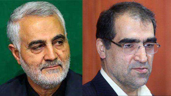 قاسم سلیمانی .. نشكر وزارة الصحة في معالجة مقاتلي المقاومة